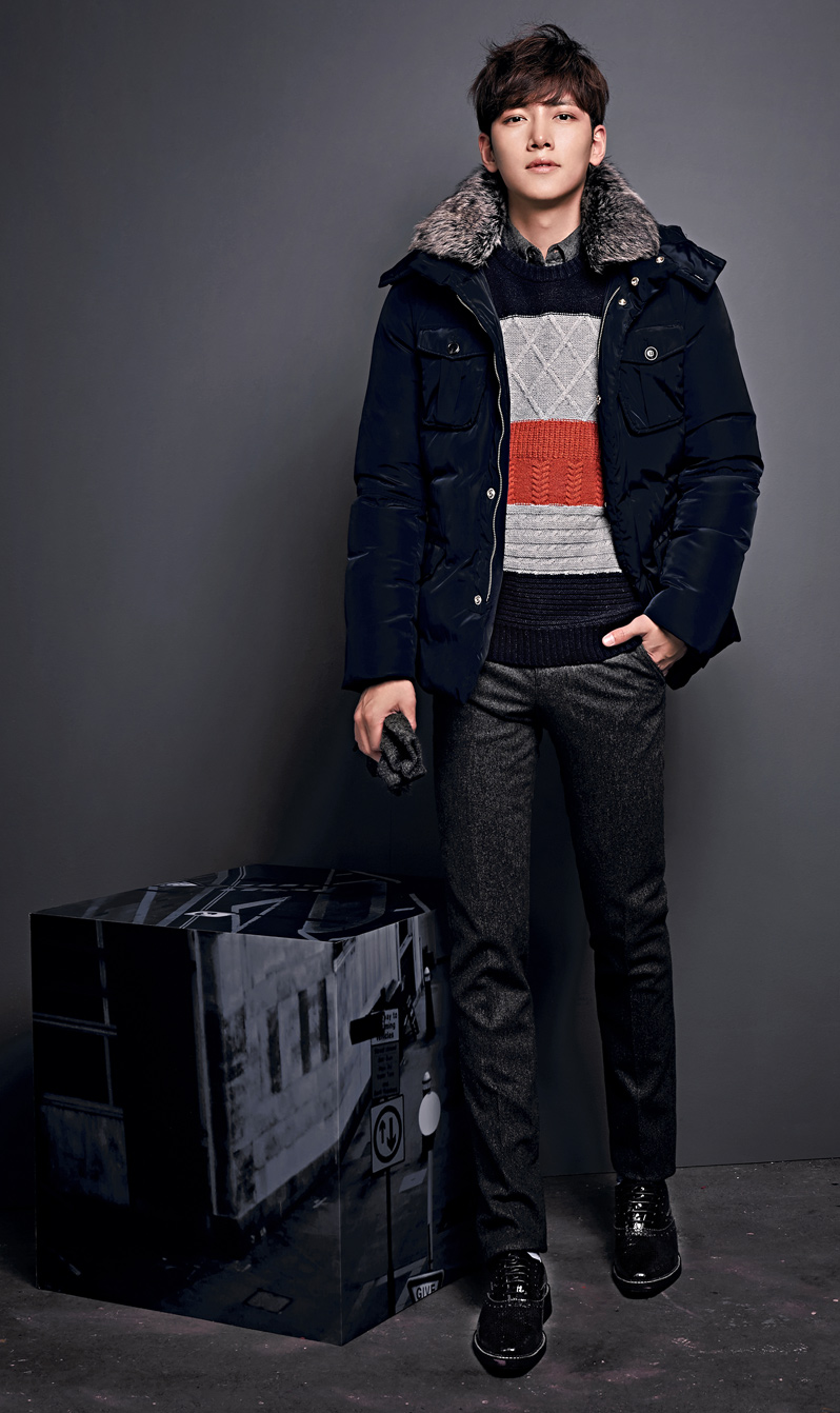 cf  ji chang wook ad hoc winter collection