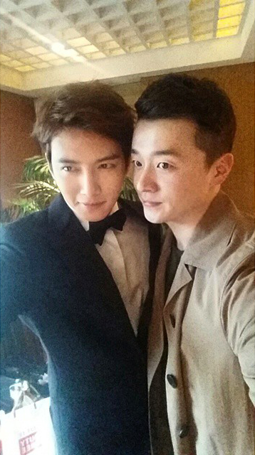 Ji Chang Wook with Won Jong Myung