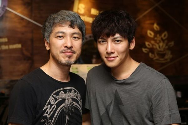 Ji Chang Wook with director Park Kwang Hyun