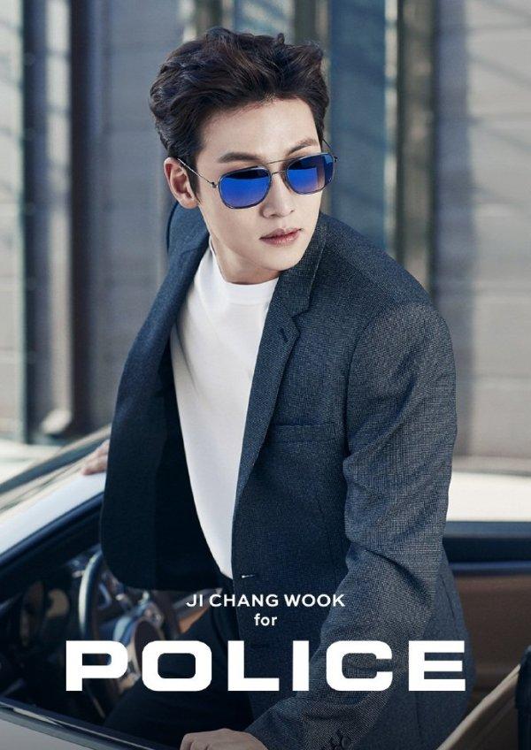 Cf Ji Chang Wook Looks Arresting For Police Eyewear Ji