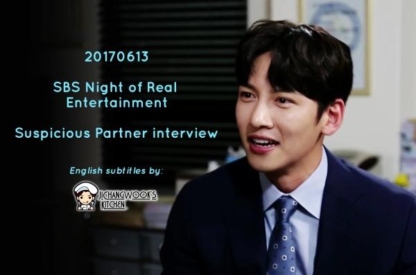 "[Eng Sub] 20170613 Night of Real Entertainment – ""Suspicious Partner"" Ji Chang Wook"